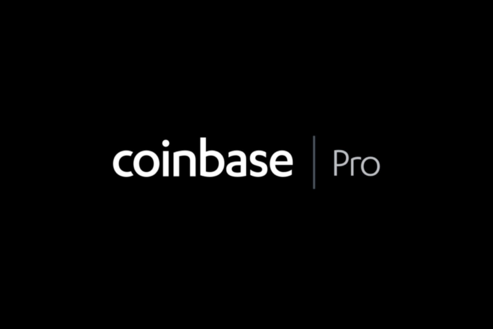Coinbase, CoinbasePRO